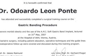 Gastric Banding Procedure - Hospital of AKH, Vienna, Austria